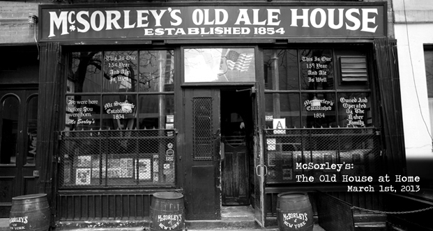 McSorley's: The Old House at Home