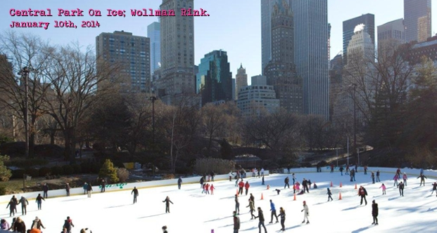 Central Park On Ice; Wollman Rink.